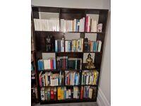 Beautiful Large Bookshelf: Solid Mango Wood