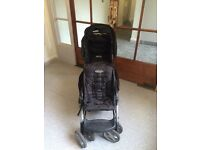 Graco Stadium Duo double pushchair / stroller / buggy with baby car seat