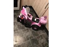 Girls electric ride on quad