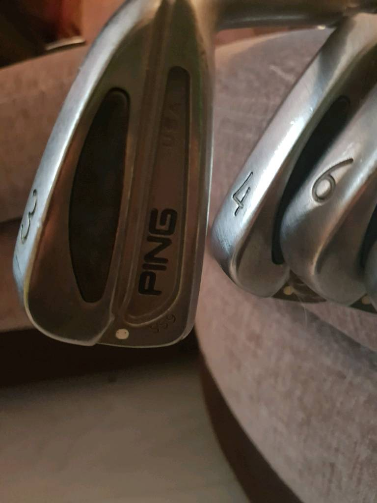 Ping s59 irons.