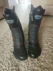Crane motorbike boots size 10