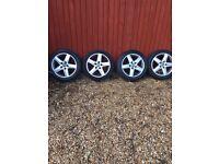 """Audi 17"""" Alloy wheels & Tyres"""