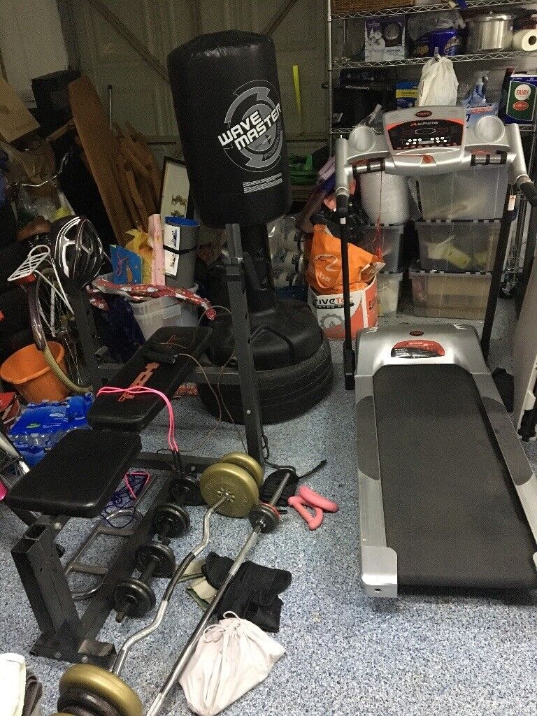 Gym equipment garage clear out in chingford london gumtree