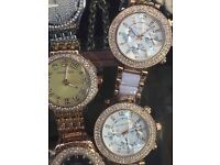 Ladies MK watches new comes in box good quality