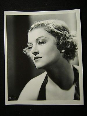 """8X10 PUBLICITY PHOTO MYRNA LOY IN THE 1933 FILM /""""THE BARBARIAN/"""" AZ530"""