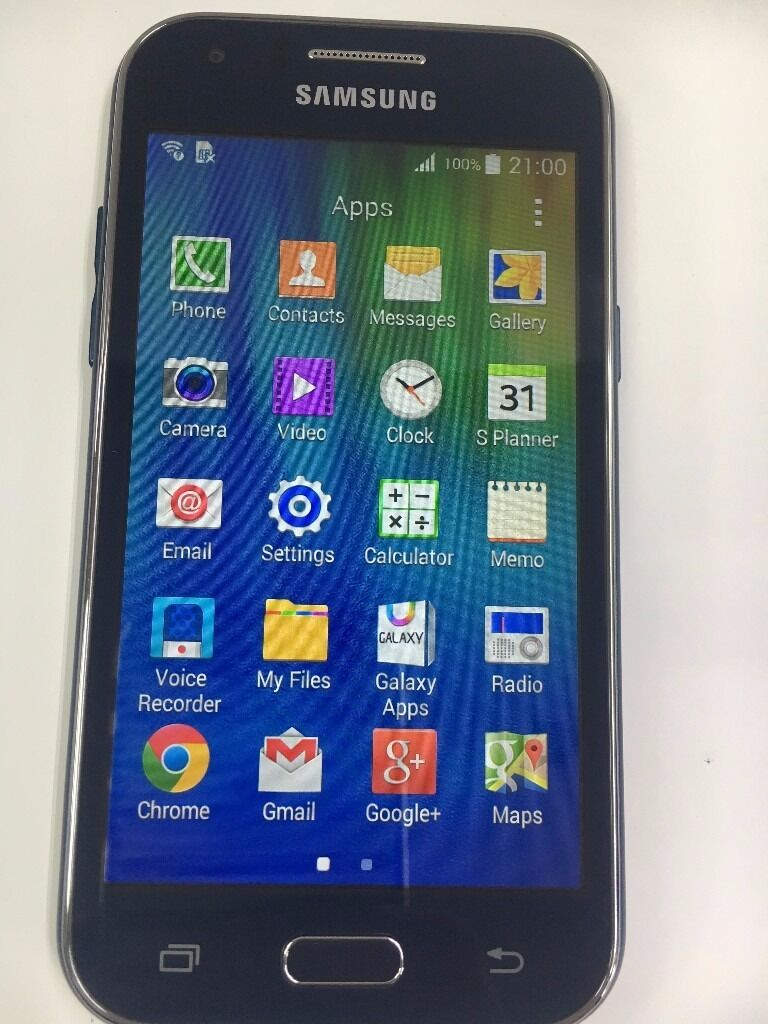 Samsung Galaxy J1 Smart Mobile Phone Blue Sim Free (Unlockedin Sparkhill, West MidlandsGumtree - Samsung Galaxy J1 SM J100H Blue Sim Free (Unlocked) OPEN TO ALL NETWORK 4GB INTERNAL MEMORY. Brand New Condition , NO SCRATCHES OR MARKS ALL Accessories with original charger and headphone BARGAIN. LIMITED STOCK NO OFFERS PLEASE CITY COMPUTERS &...