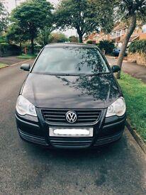 Black VW Polo 07 1.2