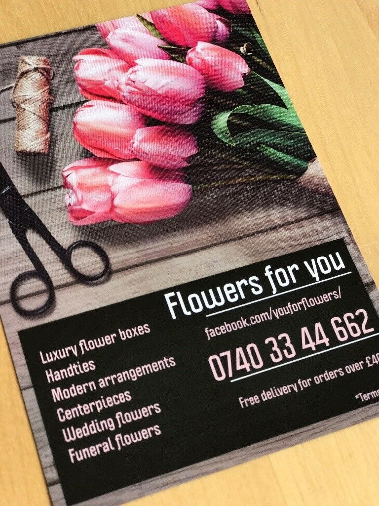 Flower service, weddings and all other occasions