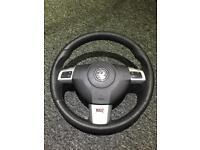 Vauxhall vectra vxr steering wheel