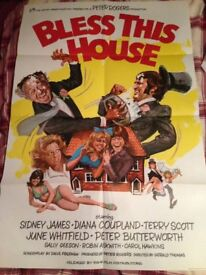 Bless This House Poster and a Set of Lobby Cards