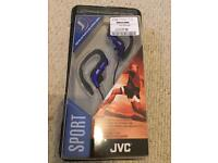 JVC sport headphones