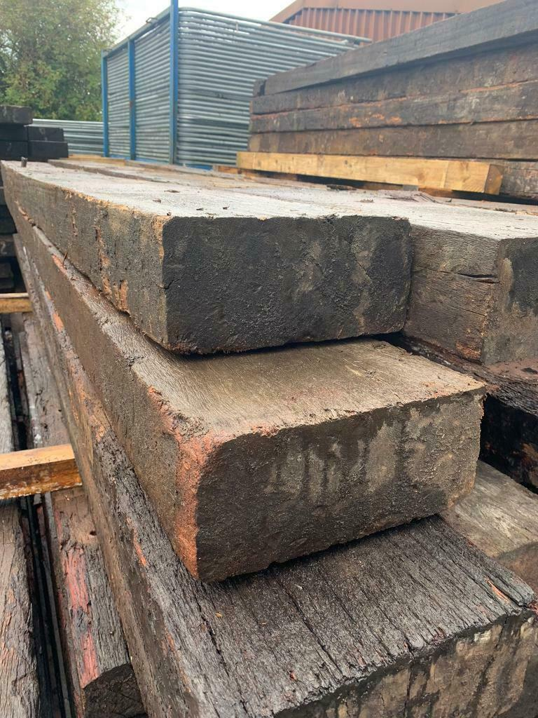 Reclaimed railway sleepers £20.20 a meter   in Sale, Manchester ...