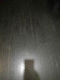 Laminate flooring , dark brown oak , only 7 months olds , 36sqm