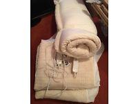 Mattress Topper & 2 x Electric Blankets Single Bed Bundle