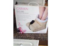 Carmen foot massager and warmer