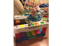 Fisher Price step and play piano baby activity