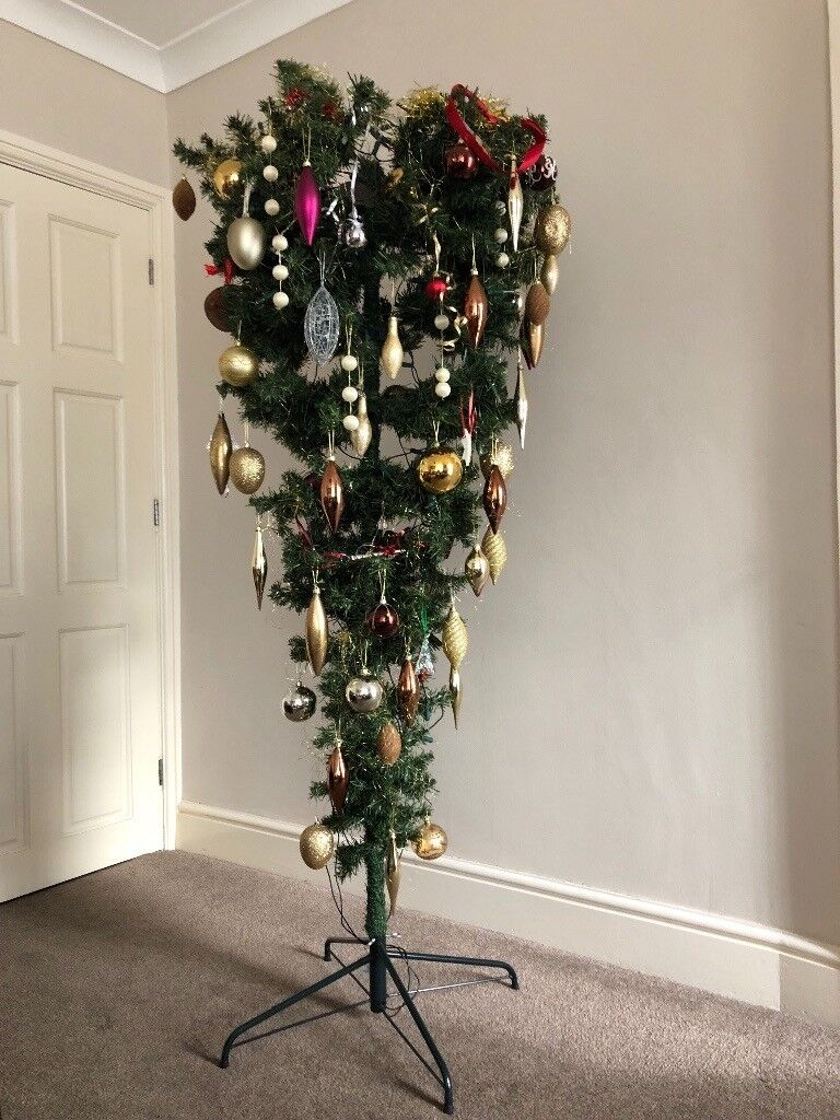 Upside Down Christmas Tree Decorating Ideas.Lovely Upside Down Christmas Tree In Sheffield South Yorkshire Gumtree