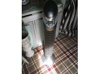 Bionaire electric tower fan with remote control