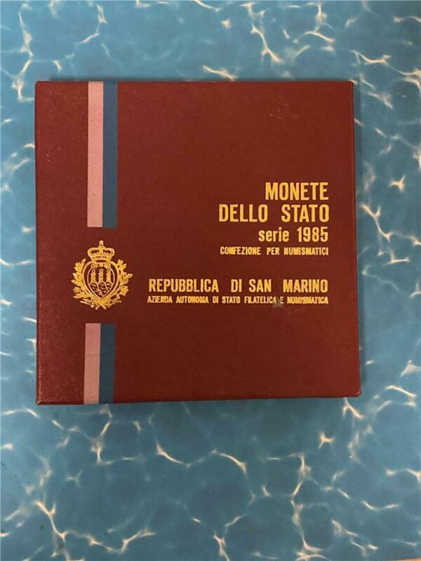 1985 Republic of San Marino Mint Set **FREE SHIPPING**