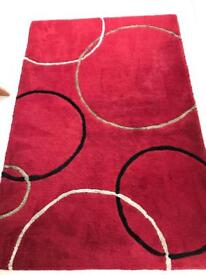 Carpet / Rug handtufted red