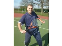 TENNIS LESSONS, NO COURT FEES