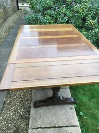Antique Rose wood or Teak Extending dining table