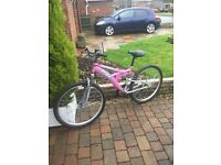ladys trax bike