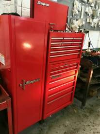 Snapon box and side cabinet