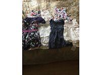 3-4 girls dresses for sale 4 designer 2 high street, excellent condition