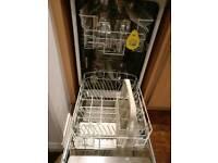 Electrolux slimline integrated dishwasher