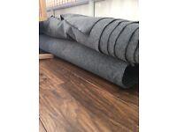Campervan stretchy carpet new 9m