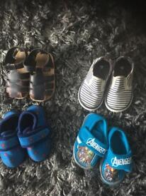 Free kids shoes and winter coat