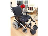Rascal P200 Electric Wheelchair. Used only 1 week + Brand new rain cover