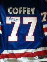 PAUL COFFEY AUTOGRAPHED HOCKEY HALL OF FAME JERSEY