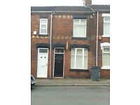 ***LET BY***2 BEDROOM MID-TERRACE- PINNOX STREET-STOKE-ON-TRENT-LOW RENT- NO DEPSOT-DSS ACCEPTED