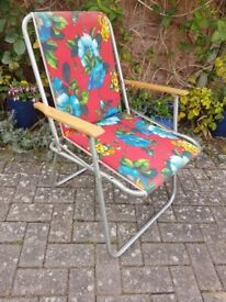 Retro Folding Chair - DELIVERY AVAILABLE