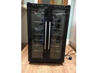 Stylish Thermoelectric undercounter wine cooler
