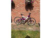 Ladies/Girls Excel Spice 2.6 mountain bike FS 18 speed