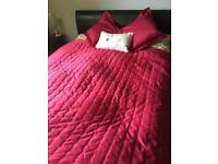 Bedspread&cushions