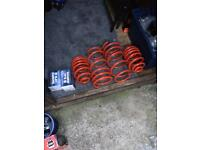 Vauxhall omega disks pads springs new