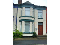 Freehold, terraced house with a small rear garden in the residential area of Birkenhead, 3 bedrooms