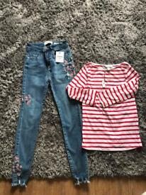 Size 6 jeans & top