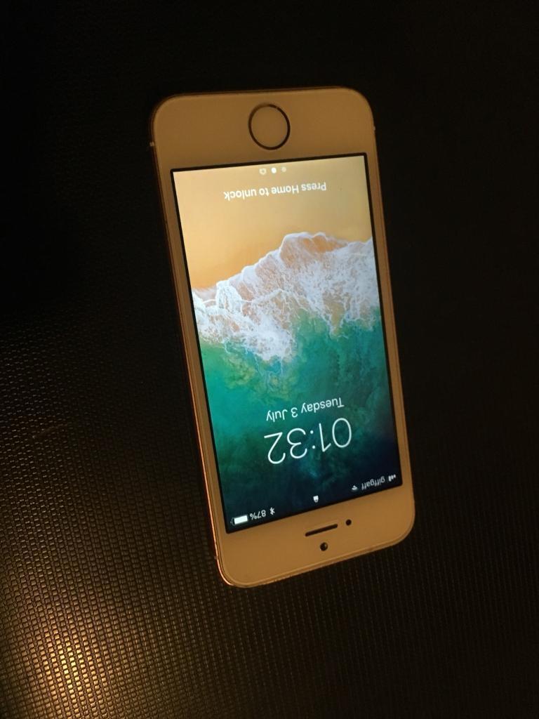 Iphone Se 64gb Rose Gold Unlocked Apple In Norwich Norfolk Gumtree