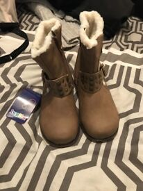 Girls brand new boots size 9