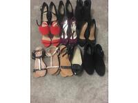 Size 6 ladies shoe bundle