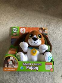Leap frog speak and learn puppy