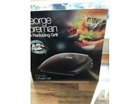 George Forman family grill brand new