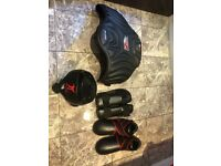 Kick boxing protection gear - barely used