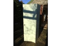 Steel Cabinet. Great for garage/workshop storage