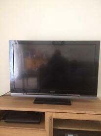 "Sony Bravia 40"" TV built in freeview"